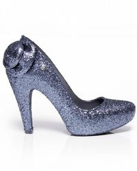Melissa Incense Glitter Bow Shoes - Lyst