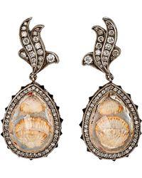 Sevan Biçakci | Intaglio Drop Earrings | Lyst