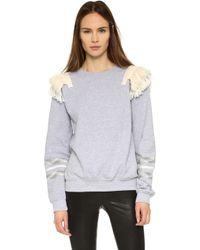 Koza - Fringe Sweatshirt - Lyst