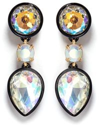 J.Crew | Brulée Crystal Drop Earrings | Lyst