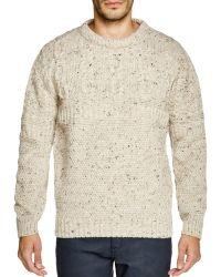 Gloverall - Aaran Crewneck Sweater - Lyst
