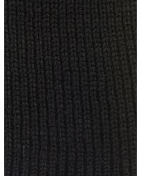 Stella McCartney - Long Ribbed-Knit Wool Gloves - Lyst