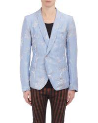 Haider Ackermann Floral Single-Button Blazer - Lyst