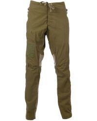 Greg Lauren Green Military Trousers - Lyst