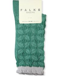 Falke Star-Patterned Socks - For Women - Lyst