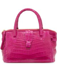 Nancy Gonzalez - Mini Christina Crocodile Tote Bag - Lyst