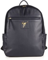 Giuseppe Zanotti Gladio Nero Leather Backpack blue - Lyst