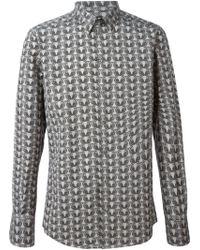 Dolce & Gabbana Owl Print Shirt - Lyst
