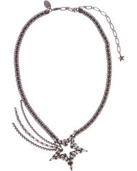 Erickson Beamon - Shooting Star Crystal-embellished Necklace - Lyst