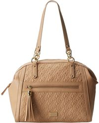 Nine West Quiltch Satchel Large - Lyst