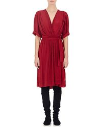 Etoile Isabel Marant Boyce Wrap Dress - Lyst