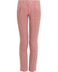 Paul & Joe Strawberry Print Trousers - Lyst