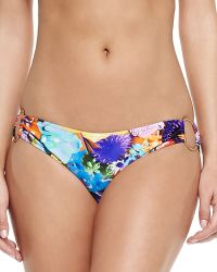 Milly Barbados Ring-Side Swim Bottoms - Lyst