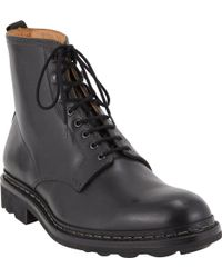 Heschung Hetre Laceup Boots - Lyst