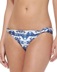 Vix Pyramid Banded Printed Swim Bottom - Lyst