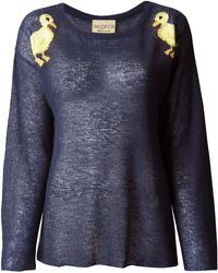 Wildfox Sheer Duckling Sweater - Lyst