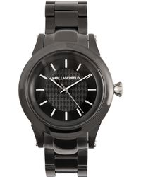Karl Lagerfeld Slim Chain Watch - Lyst