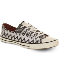 Converse Ctas Fancy Low-top Trainers - Lyst