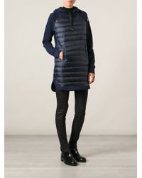 Moncler Padded Sweater Dress - Lyst