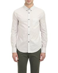 Band of Outsiders Button-Down Shirt - Lyst