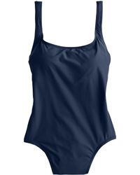 J.Crew Scoopback One-Piece Swimsuit - Lyst
