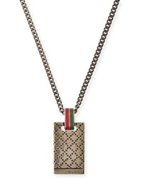 Gucci Mens Diamantissima Necklace - Lyst