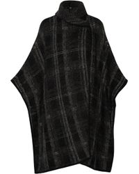 Line - Meredith Textured-knit Cape - Lyst