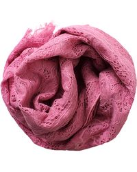 Valentino Butterfly Lace Shawl pink - Lyst