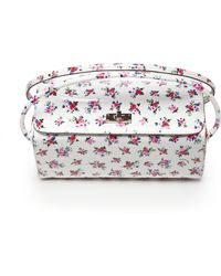 Carven Printed Patent Leather Camera Case Bag - Lyst