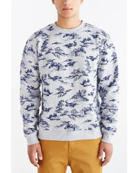 Obey Darcell Crew Neck Sweatshirt - Lyst