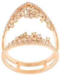 Kristin Hanson | Diamond Cluster Open Ring | Lyst