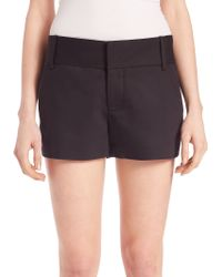 Alice + Olivia | Cady Quilted Shorts | Lyst