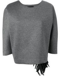 Erika Cavallini Semi Couture - 'prosper' Sweatshirt - Lyst