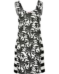 See By Chloé Cottonjersey Palm Print Dress - Lyst