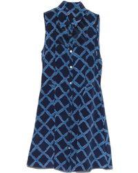 Timo Weiland - Navy Lana Shirt Dress - Lyst