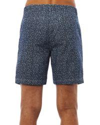 Steven Alan - Floralprint Denim Shorts - Lyst