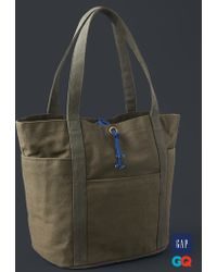 Gap - + Gq The Hill-side Cotton Tote - Lyst