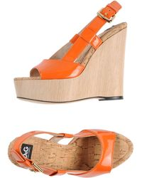D&G Orange Wedge - Lyst