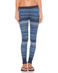 Splendid Bowery Street Thermal Leggings - Lyst