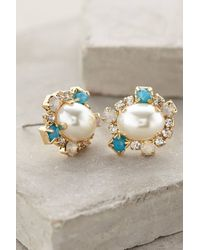 Anthropologie Pearled Charlotte Posts - Lyst