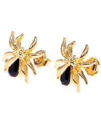 Tom Binns - Binsect Spider Earrings - Lyst