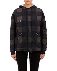 Boy by Band of Outsiders Check Hooded Puffer Coat - Lyst