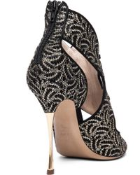 Nicholas Kirkwood Open Toe Cut Out Heel - Lyst