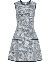 Reiss Tara Fit And Flare Dress - Lyst