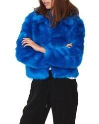 n:PHILANTHROPY - Melanie Faux-Fur Jacket - Lyst