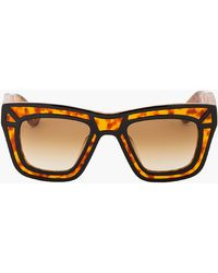 Ksubi Tortoiseshell Outline Skeleton Sunglasses - Lyst
