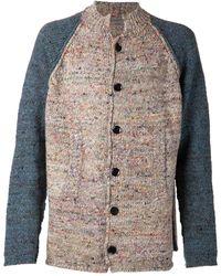 Yohji Yamamoto Bi Color Jacket - Lyst