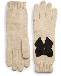 Kate Spade Tech-friendly Bow Glove - Lyst