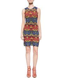M Missoni Rose Jacquard Tank Dress - Lyst
