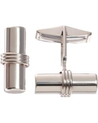 Barneys New York Bar Cufflinks - Lyst